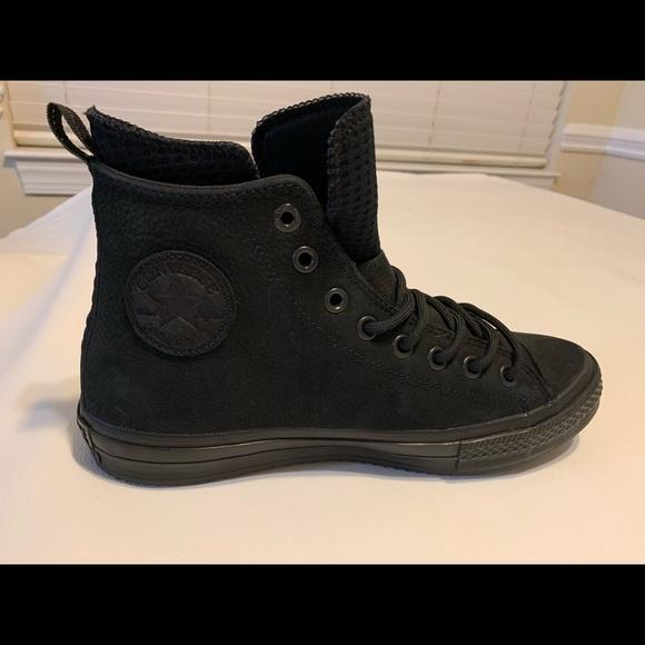 cfe651aac21 Converse black waterproof nubuck boots